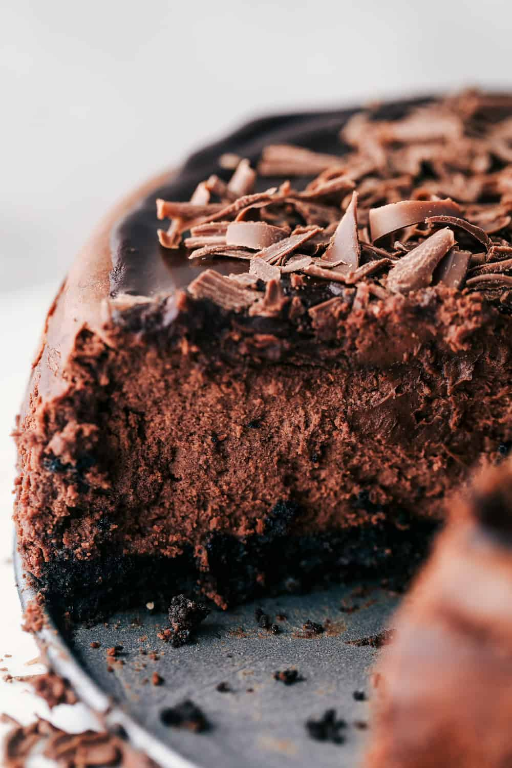 Death by Chocolate Cheesecake Easy Recipe