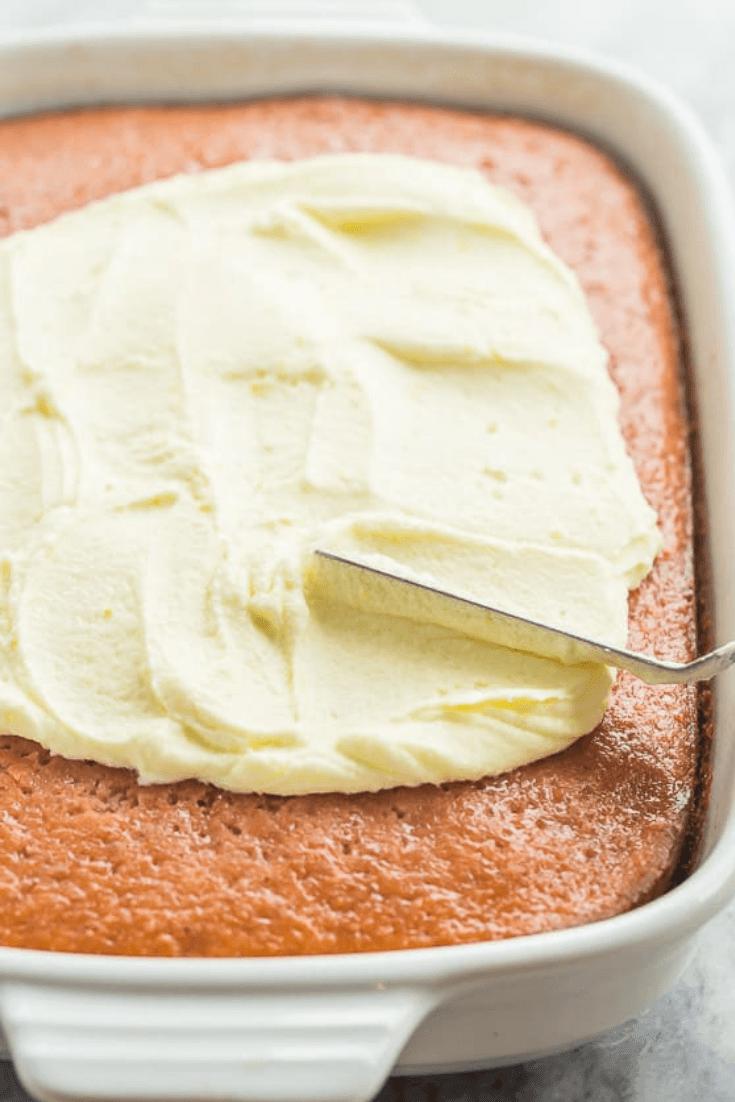 Strawberry Lemonade Cake Best Recipe