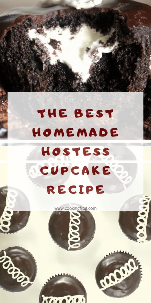 Homemade Hostess Cupcake Recipe