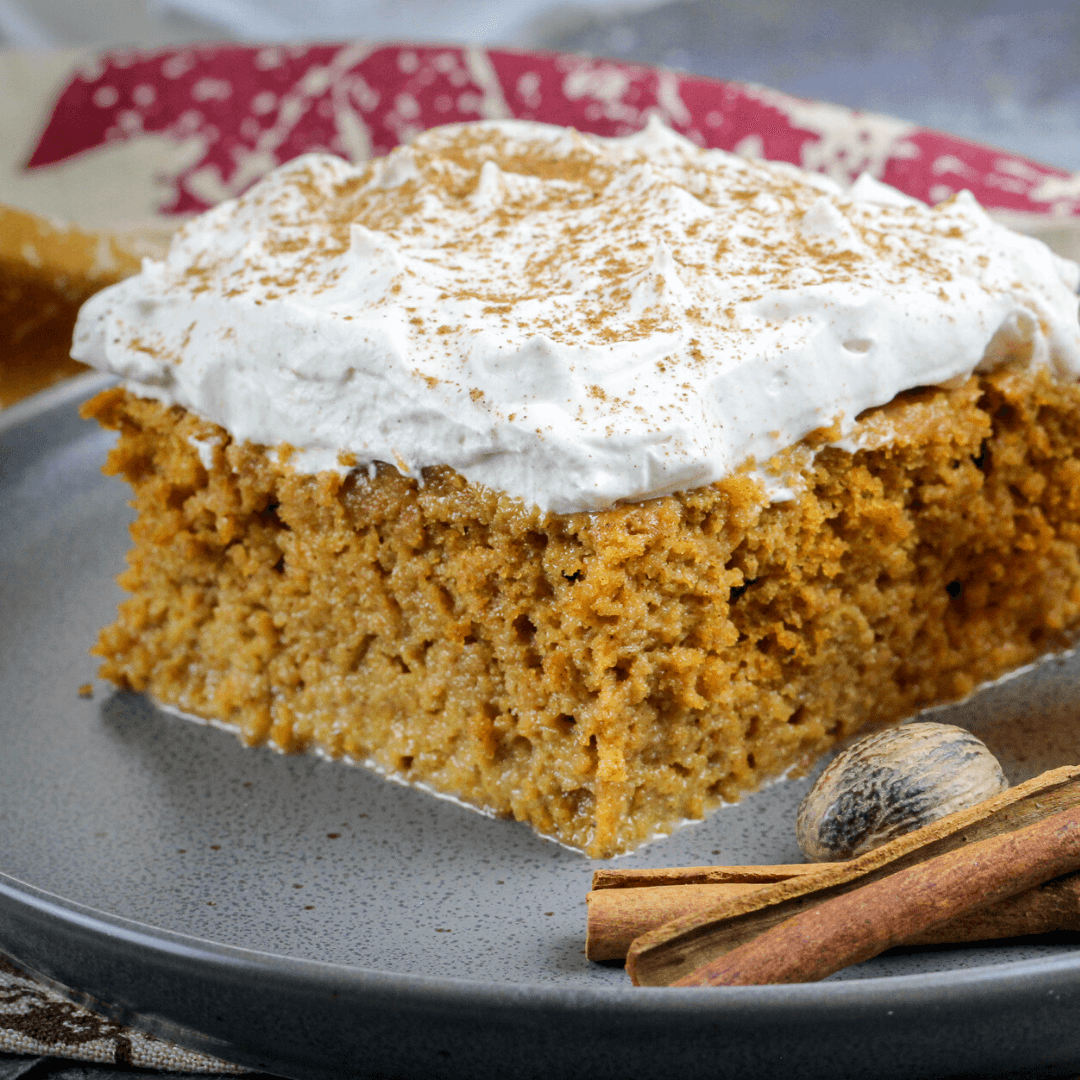 Pumpkin Tres Leches Cake With Spicy Cream - Cooking Frog