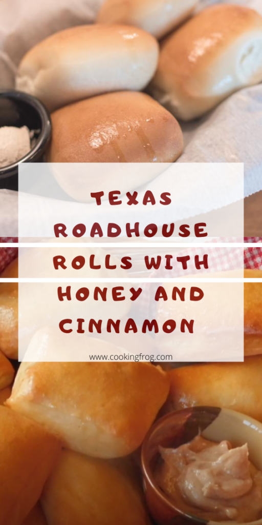 Texas Roadhouse Rolls With Honey and Cinnamon