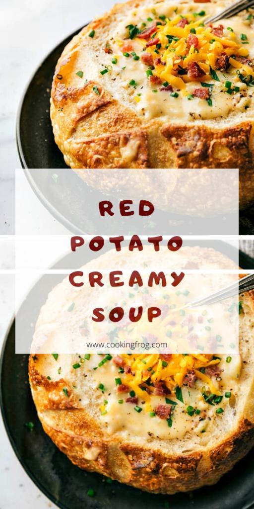 Red Potato Creamy Soup