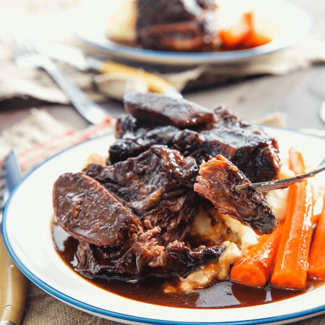 Dr.Pepper Short Ribs (Braised)