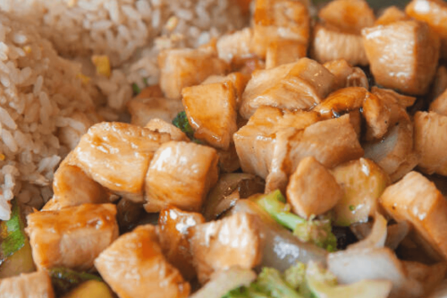 Easy Hibachi Chicken with Fried Rice Recipe