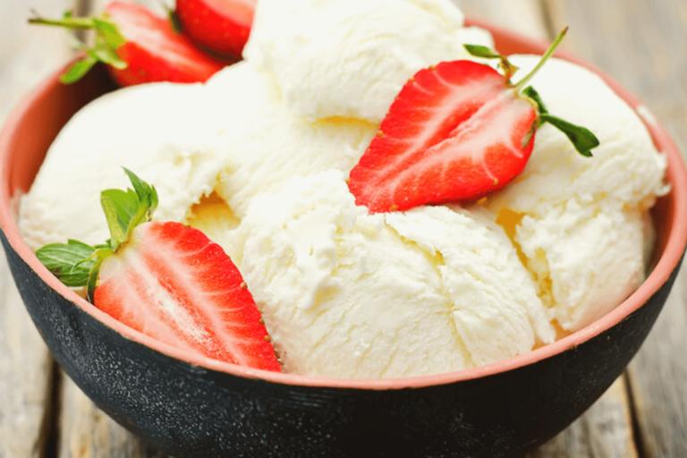 Keto Mason Jar Ice Cream