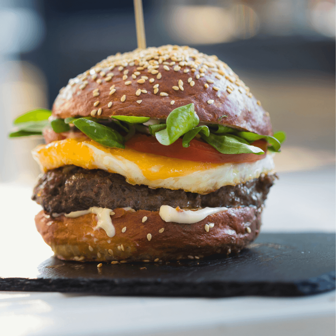 Easy Air Fryer Hamburgers Recipe