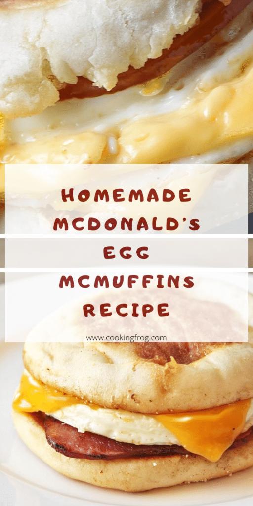 McDonald's Egg McMuffins Copycat Recipe