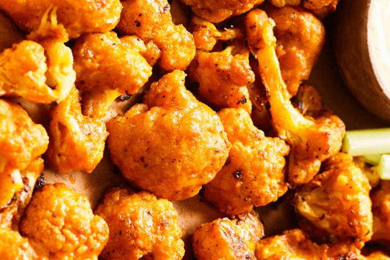 Buffalo-Cauliflower Bites CPK recipe