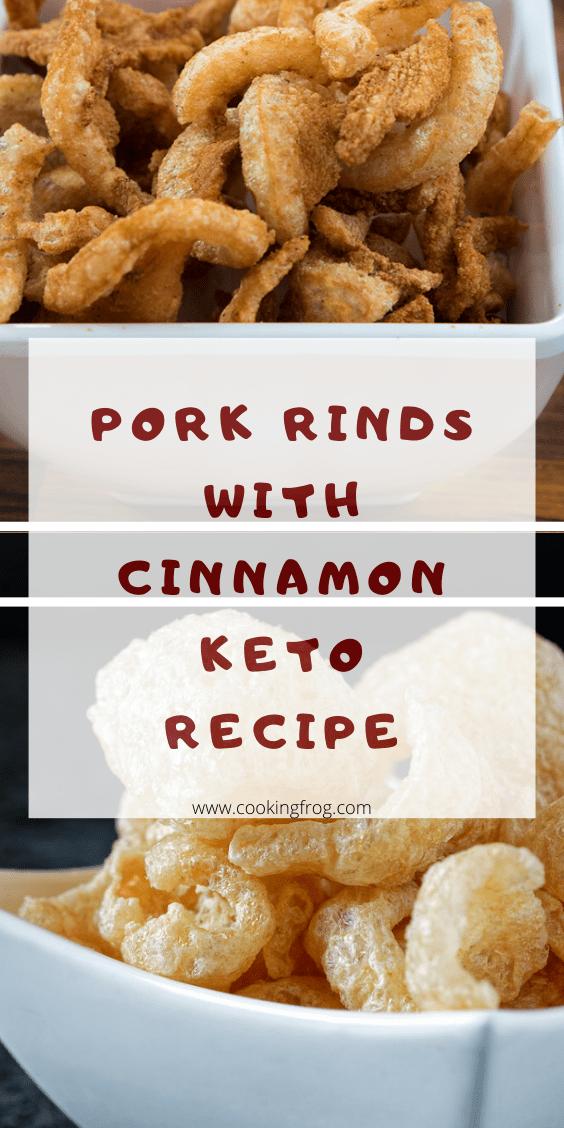 Pork Rinds With Cinnamon (Keto Recipe)