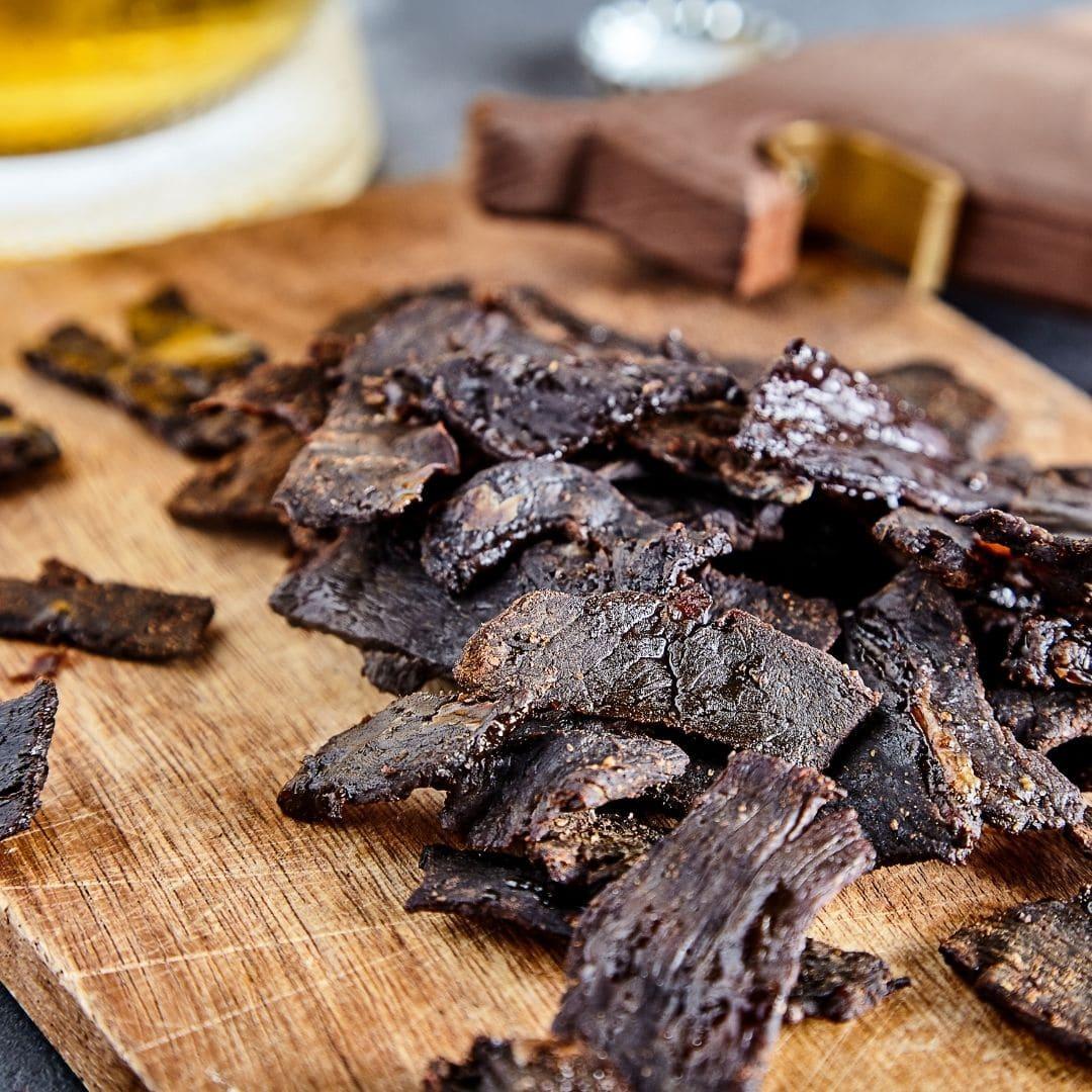 Oven Baked Beef Jerky Easy Recipe