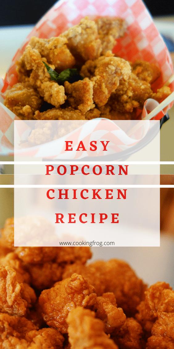 Easy Popcorn Chicken Recipe
