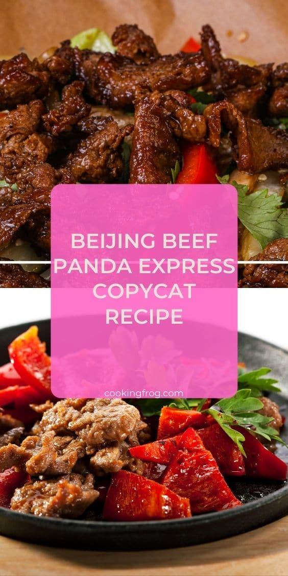 Beijing Beef Panda Express Copycat Recipe