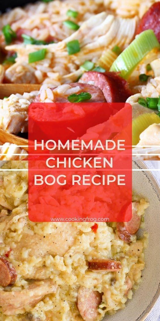 Homemade Chicken Bog Recipe