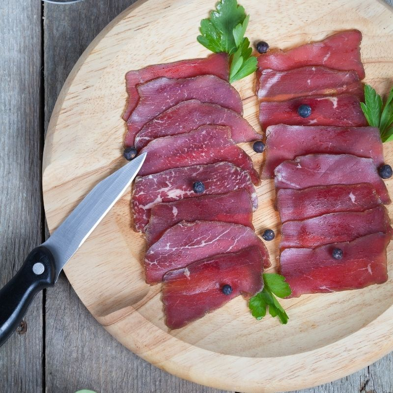 How to dry beef recipe