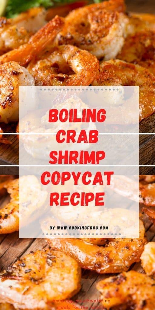 Boiling Crab Shrimp Copycat