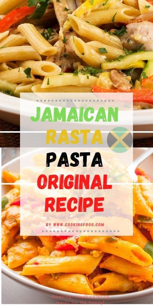 Homemade Rasta Pasta Original Recipe
