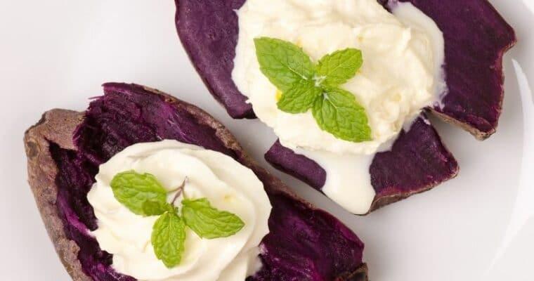 How to make Purple Sweet Potato Recipe