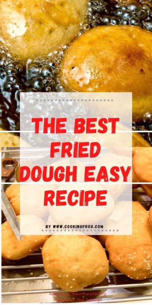 The Best Fried dough recipe